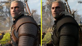 The Witcher 3 Nintendo Switch vs PS4 Early Graphics Comparison