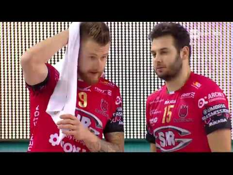 Superlega A1: 8° Giornata - Cucine Lube Civitanova - Sir Safety Perugia 3-2