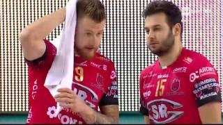 Superlega A1: 8° Giornata - Cucine Lube Civitanova - Sir Safety Perugia 3-2