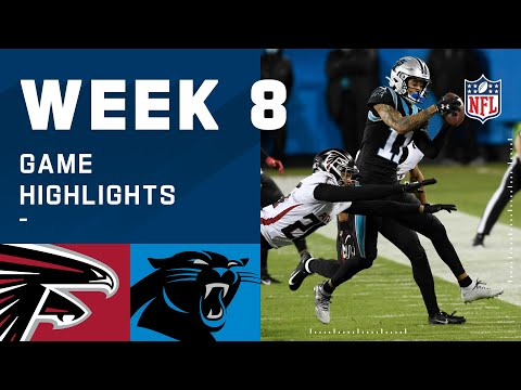 Panthers Vs. Falcons Week 8 Highlights (YouTube)