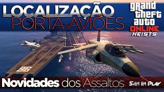GTA V Assaltos: Localização do Porta Aviões, Assalto no CASINO e muito mais!