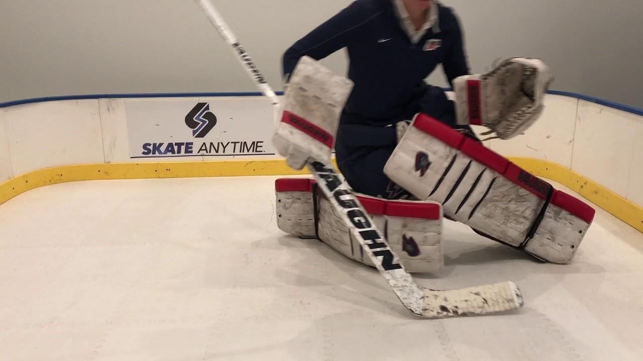Rollerfly Goalie Slide Plates Skate Anytime