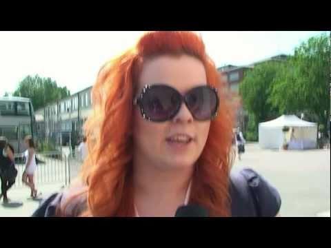 Chaos Tube: Sanna Säntti  @ Radio Aallon Helsinki-päivä konsertti 12.6.2011