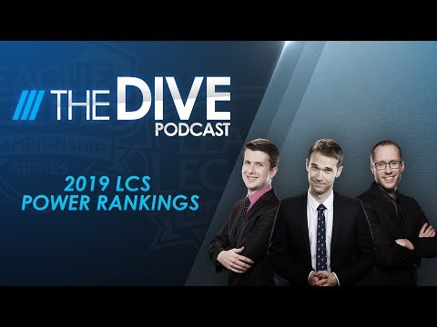 The Dive Podcast: 2019 LCS Power Rankings (Season 3, Episode 1)