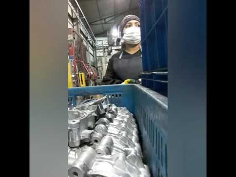 Work in South Korea (Press Machine)
