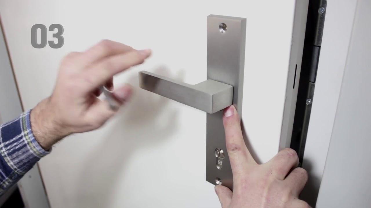 Berühmt Türgriff / Türklinke / Türbeschlag / Türdrücker - Montieren - YouTube UF49