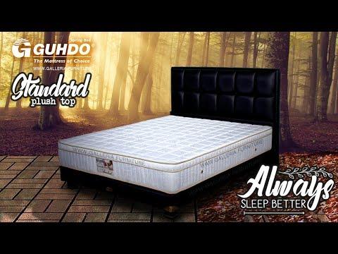Harga Kasur Springbed Guhdo Standard Plush Top 2019 - Galleria Furniture