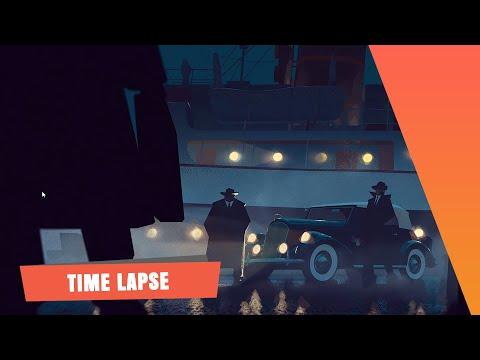 The SPA Studios. Szymon Biernacki's Time Lapse Painting. Shipyard.