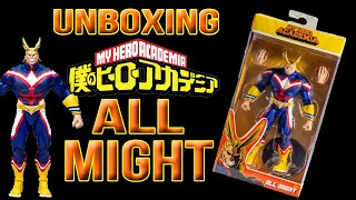 Unboxing My Hero Academia All Might Action Figure