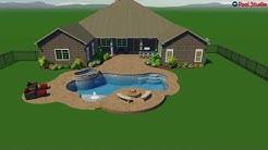 Chris B. Denton TX new pool construction by Denton Pools Inc.