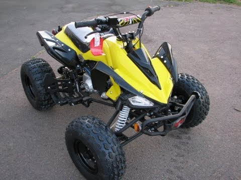 nitro python 50cc 4 stroke mini quad atv off road quad doovi. Black Bedroom Furniture Sets. Home Design Ideas