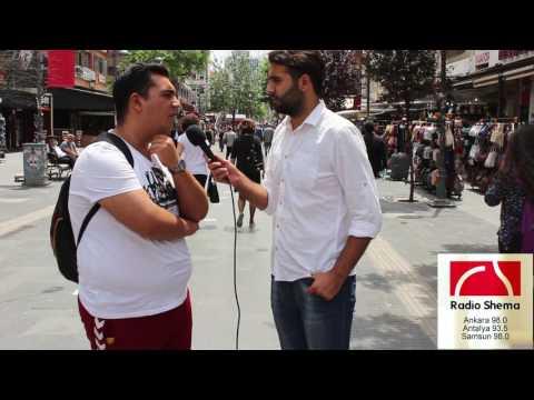 Ankara'da Radyo Röportajı