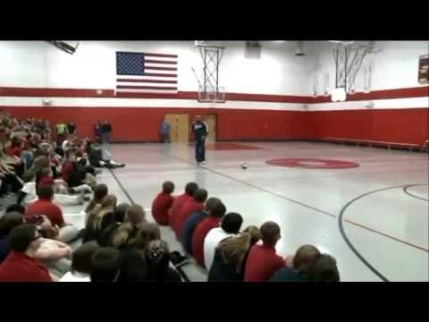 Globetrotter at Coolidge Junior High School KTVI-TV