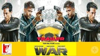 WAR trailer  Hrithik Roshan   Tiger Shroff   Vani kapoor   Release soon  