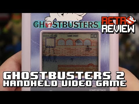 RETRO REVIEW: Ghostbusters 2 Handheld Video Game