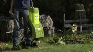 Sun Joe Chipper Joe 14 Amp Electric Wood Chipper/Shredder - CJ601E