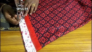 Umbrella top cutting and stitching easy method