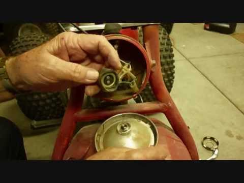 Honda ATC 110 Electrical Wiring, Part 1 of 2, Lights - YouTube