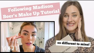 Hi guys,in today's video i am following madison beer's make up tutorial that was uploaded to vogue. super interesting try out her routine which is...