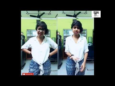 Cute dubsmash done by TN Girl |Adithya tv |mokkai of the day |Gopi |Lokesh