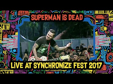 Superman Is Dead Live at SynchronizeFest - 6  Oktober 2017