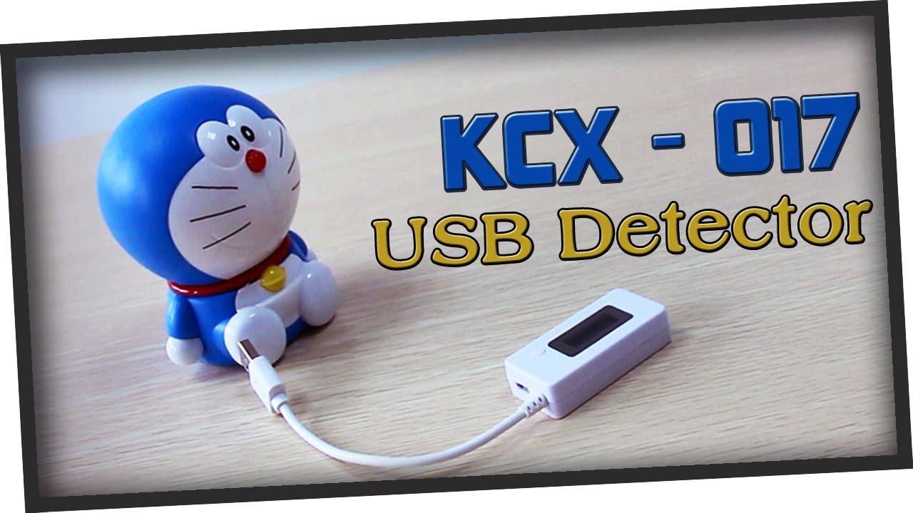 Mini misuratore di tensione e corrente con display LCD USB KCX-017