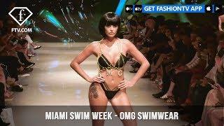 OMG Swimwear Cleopatra-Esque Miami Swim Week Art Hearts Fashion 2019 | FashionTV | FTV