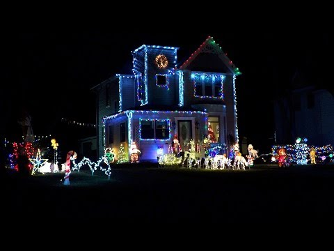 St. Paul Park -  Cison Family Christmas Lights House '17