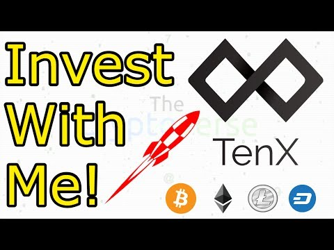 Invest With Me! #1 TenX ICO Crowdsale Live Investment Walkthrough (The Cryptoverse)