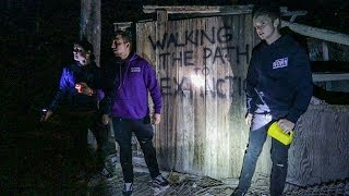 OVERNIGHT IN ABANDONED CITY! (Someone Came After Us)