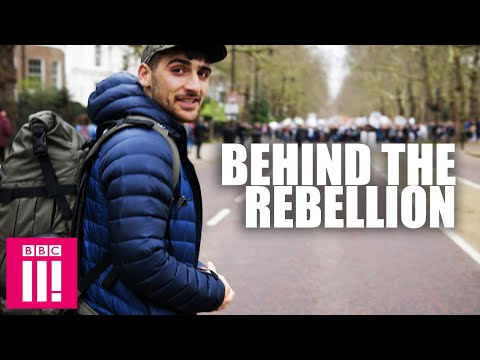 Inside Extinction Rebellion: Behind The Scenes At This Year's Major Protest