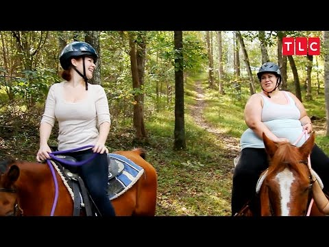 Can Whitney Saddle Up Enough Courage To Ride A Horse? | My Big Fat Fabulous Life