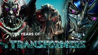Ten Years of Transformers tribute | Tributo a Diez años de Transformers