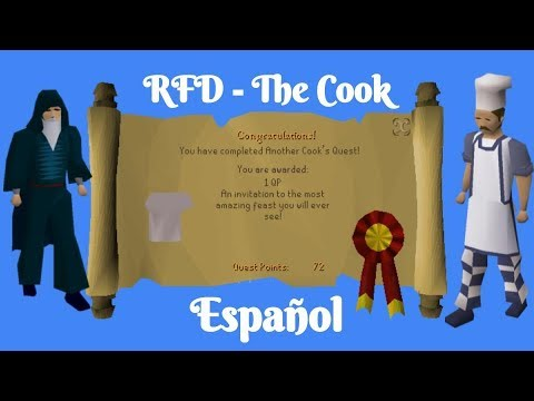 [OSRS] Recipe For Disaster - Cook Quest (Español)