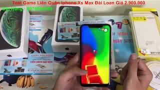 Test Game Liên Quân Iphone Xs Max Singapore