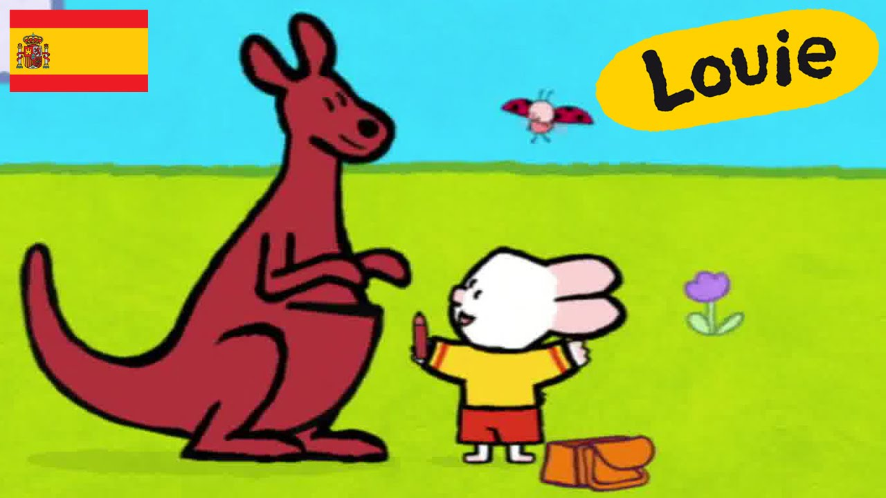f0095cf15 Canguro - Louie dibujame un canguro   Dibujos animados para niños - YouTube