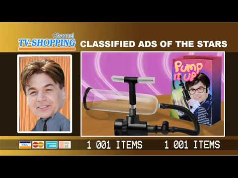 Shopping-TV Channel: Celebrity Classified Ads