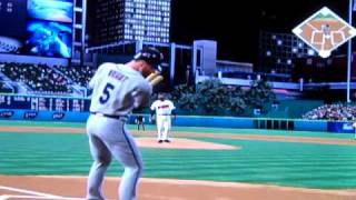 MLB 07 The Show Gameplay: Mets at Indians