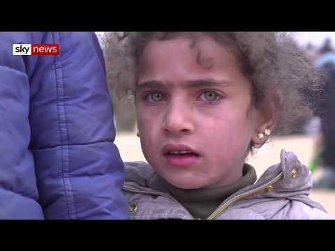 Inside the Islamic State refugee camp