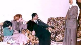 صدام حسين يزور مدينة عنة عام ١٩٨٢ فلم نادر وحصري