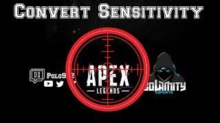 Convertir sa sensibilité pour CsGo / Fortnite / Apex Legend / Overwatch Gratuitement