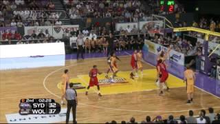 Highlights - Sydney Kings vs Wollongong Hawks, 11 October 2014