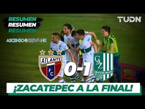 Resumen | Atlante 0 - 1 Zacatepec | Ascenso MX - AP 19 Semifinal | TUDN