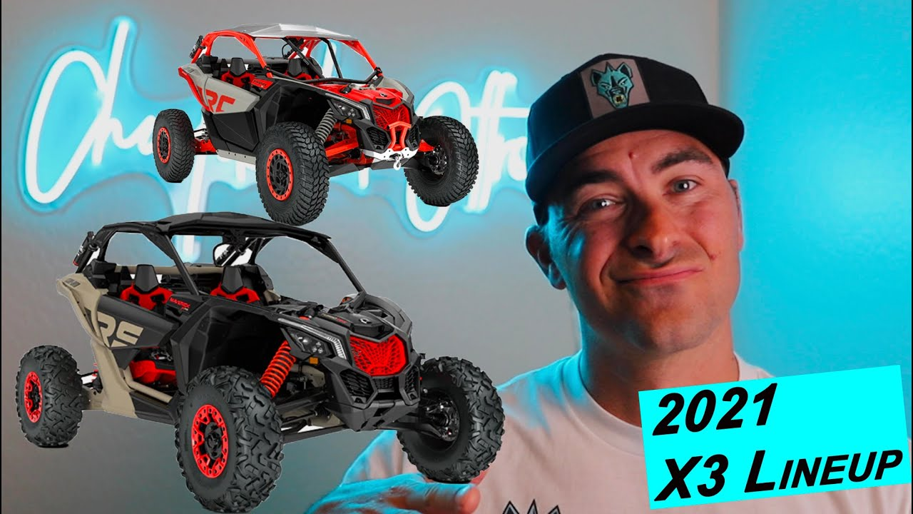 2021 CAN AM X3 LINEUP - ENOUGH TO STAY ON TOP?