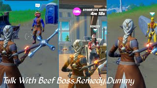 Talk To Beef Boss,Remedy,Dummy Location _ Fortnite