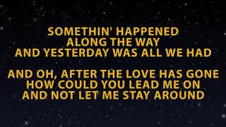 Karaoke After The Love Has Gone - Brian McKnight