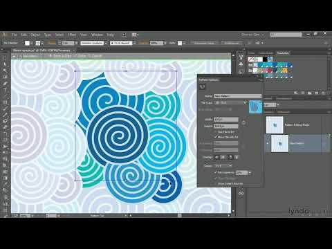 Illustrator CC tutorial: Using the Pattern Generator   lynda.com