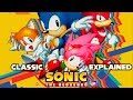 Sonic Mania and Story of 2D Sonic Explained!