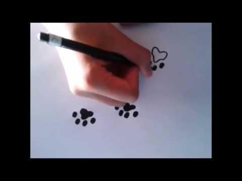 Como Dibujar Huellas How To Draw Footprints
