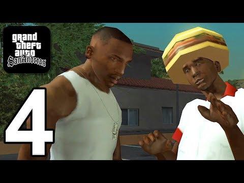 Grand Theft Auto: San Andreas - Gameplay Walkthrough Part 4 (iOS, Android)